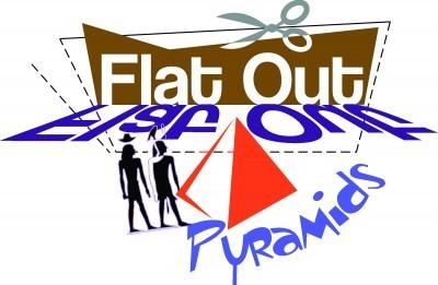 Flat out Pyramids logo