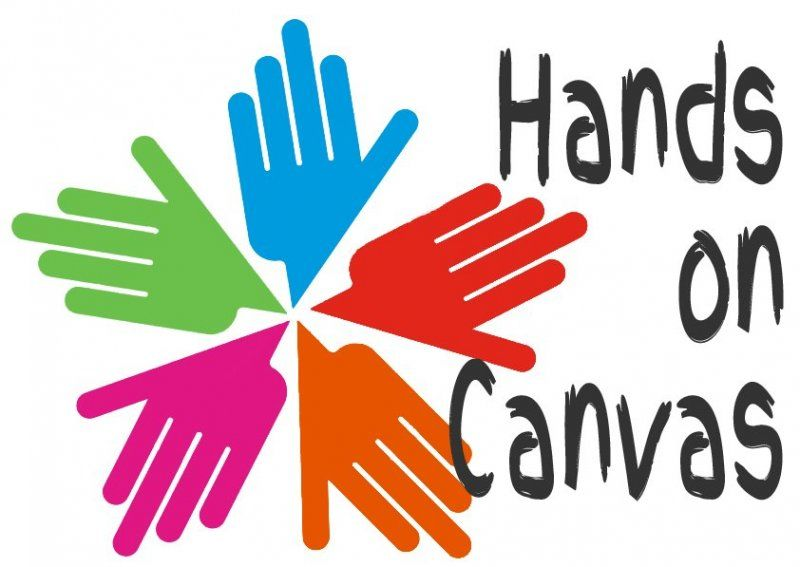 Hands on Canvas logo