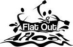 Flat Out Afloat logo male