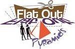 Flat out Pyramids logo male