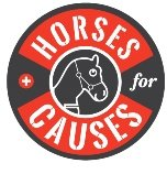 Horses For Causes logo male