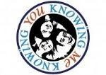 Knowing me Knowing you logo male