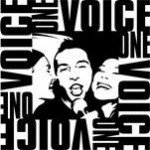 ONE VOICE LOGO male