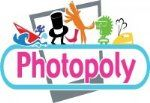 Photopoly logo male