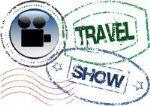 Travel show logo male