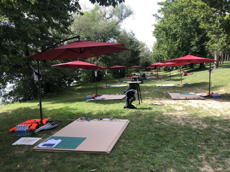 Outdoor Teambuilding Catalyst safely organized during Covid-19 pandemic in Prague
