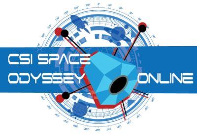 CSI Space Odyssey Online Game Logo