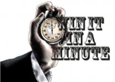 Win it in a Minute hybrid teambuilding logo
