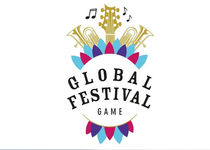 Global Feestival Online Teambuilding Logo